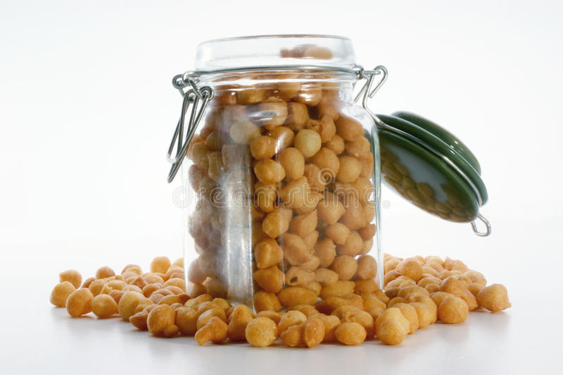 Download Fried Batter Pearls In A Jar Stock Photos - Image: 10950043