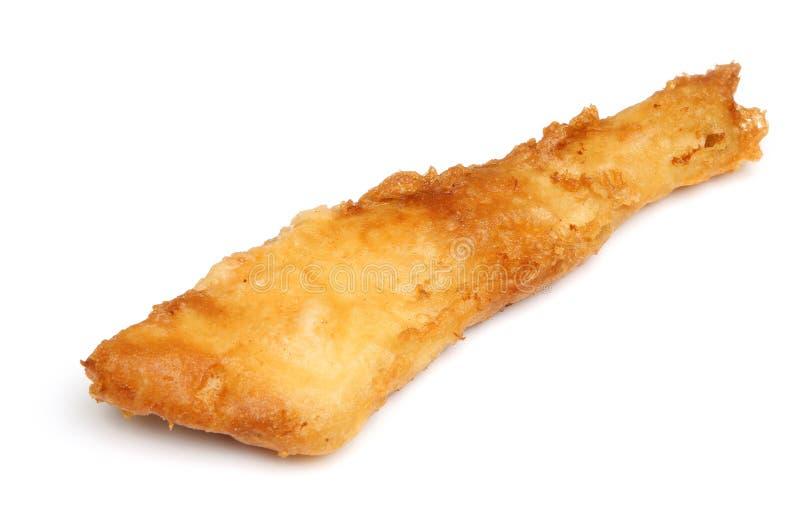 Fried Battered Cod Fish Fillet image libre de droits