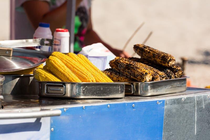 Fried And Boiled Corn imagen de archivo