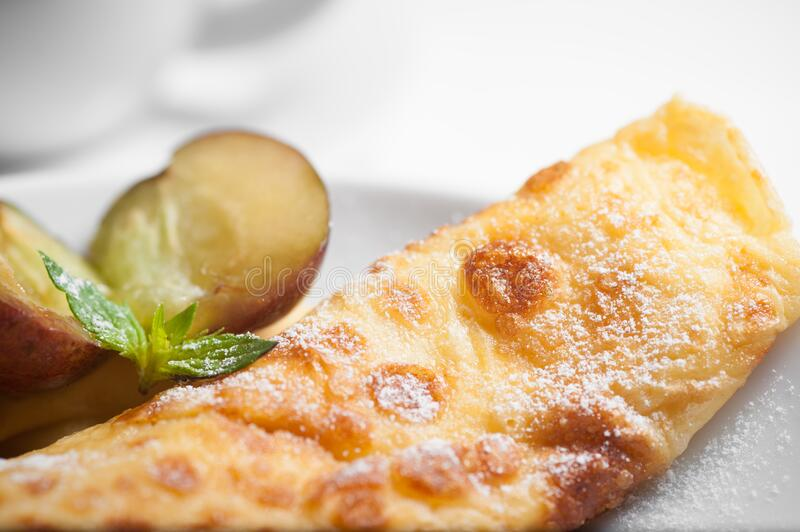 Fried bread royalty free stock image