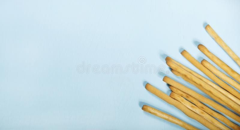 Fried bread stick stock photo