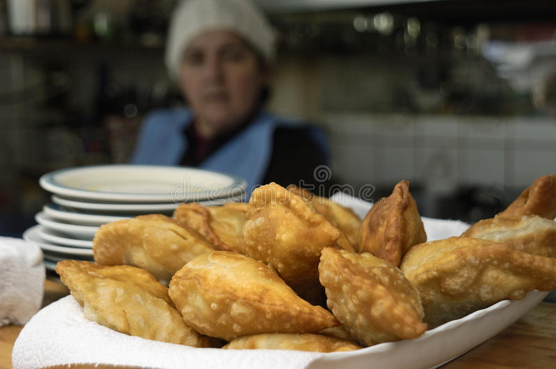 Fried Breaded stock fotografie