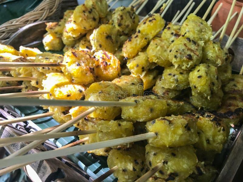 Fried Cassava para a venda imagens de stock royalty free