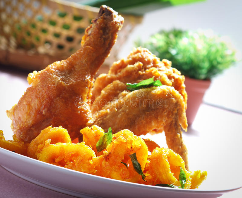 Download Fried Chicken stock image. Image of meat, macro, cuisine - 23833675