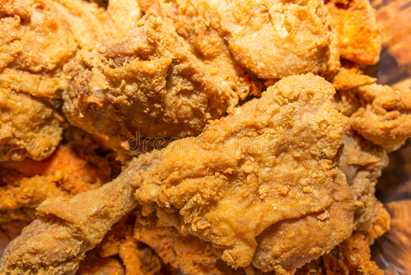 Fried Chicken royaltyfri fotografi