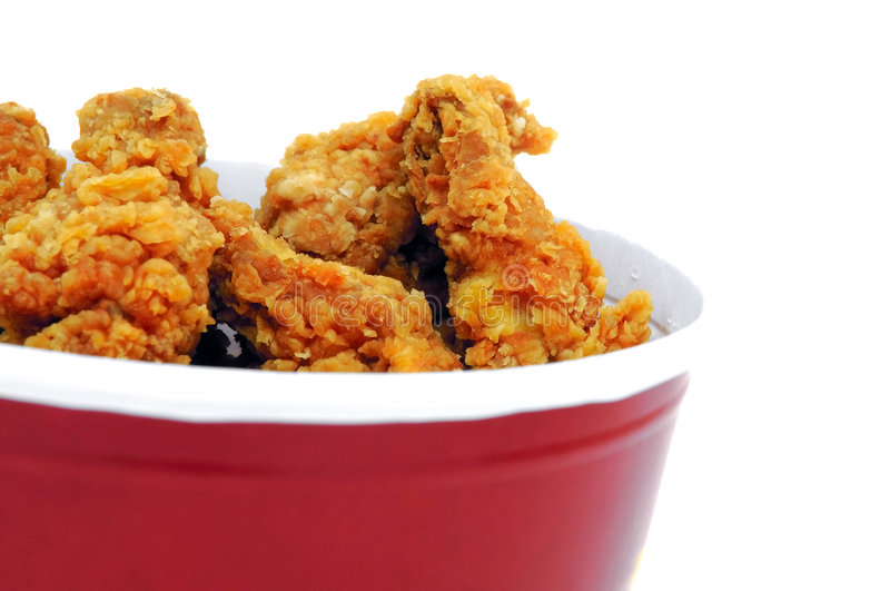 Fried chicken stock photography