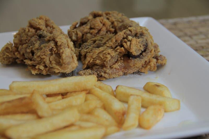 Panlasang pinoy Crispy Fried Chicken royalty free stock photo