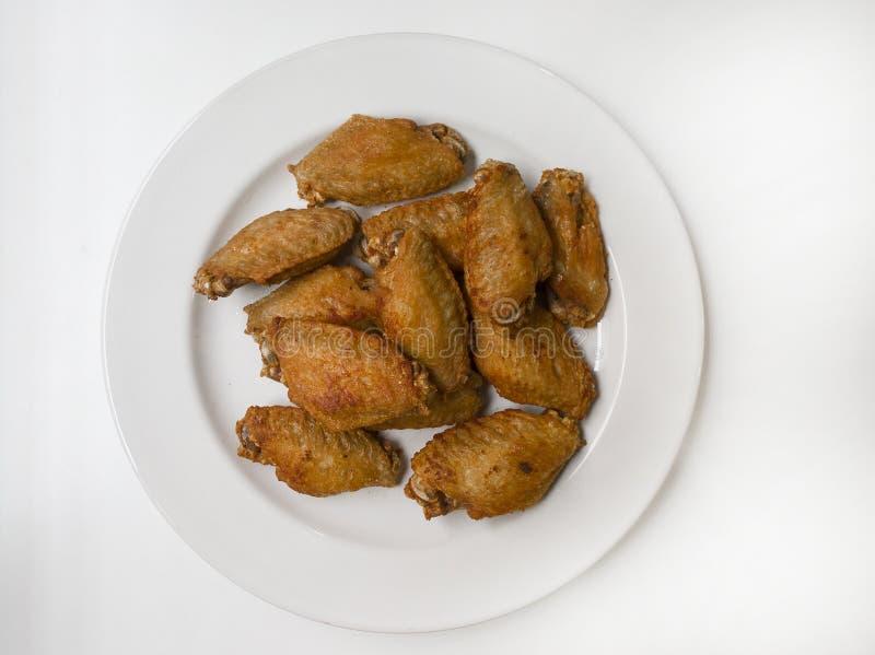 Fried Chicken med fisksås arkivfoto