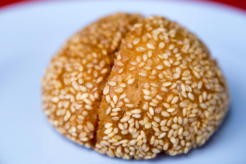 Fried Chinese bulle arkivfoton