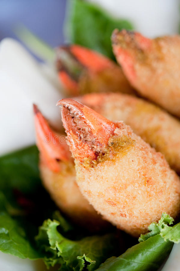 Download Fried Crab Claws stock photo. Image of fried, dish, cooked - 12694762