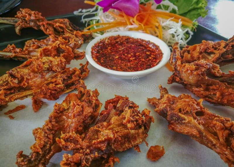 Fried Duck Lips photographie stock libre de droits