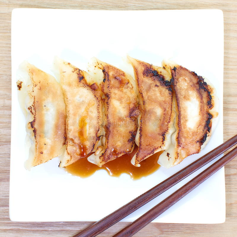 Fried Dumpling imágenes de archivo libres de regalías