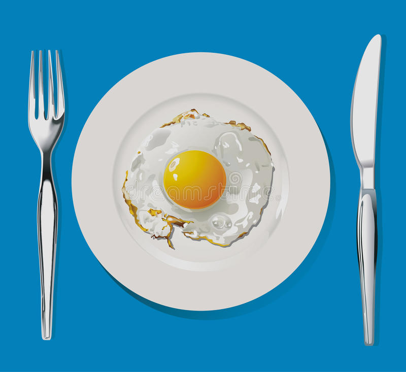 Fried Egg vektor abbildung