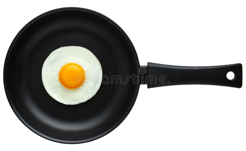 Fried Egg lizenzfreie stockbilder