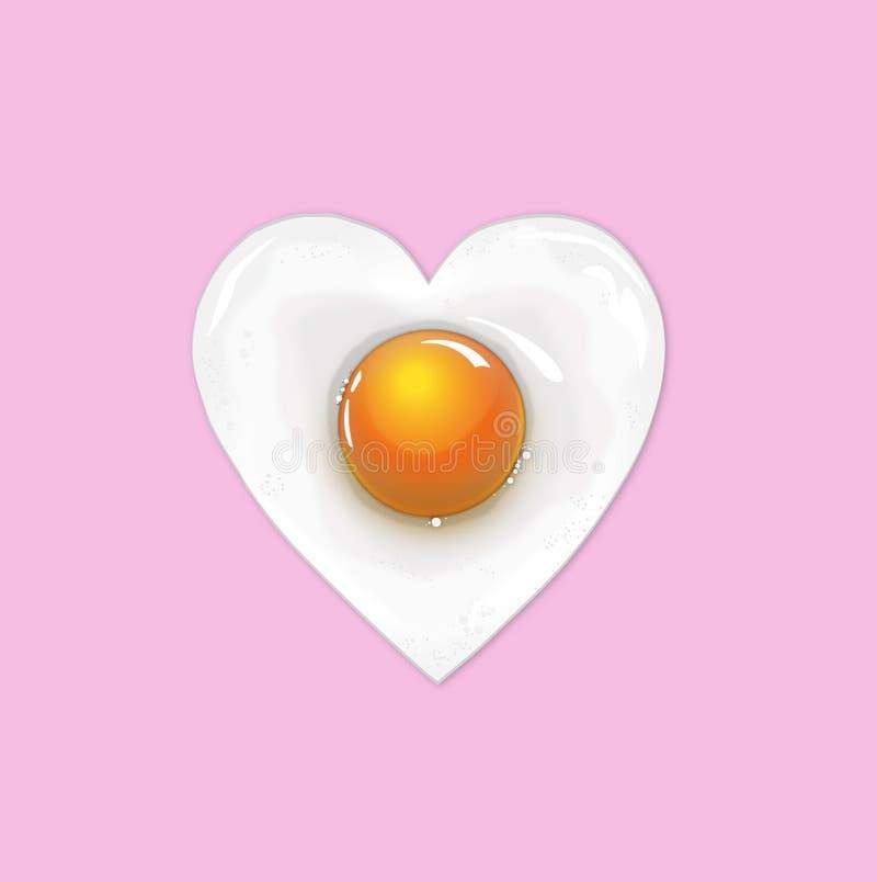 Fried Egg royalty-vrije stock foto's