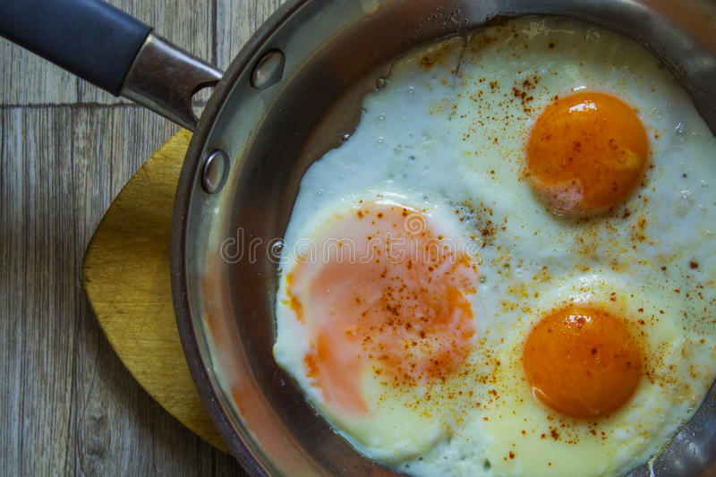 Fried Egg royalty-vrije stock afbeelding