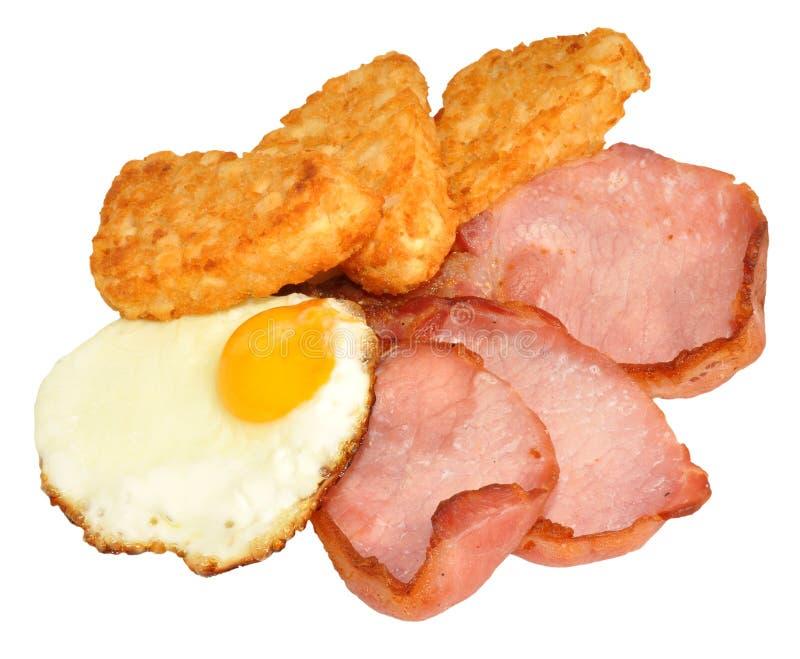 Fried Egg And Bacon Breakfast foto de stock royalty free