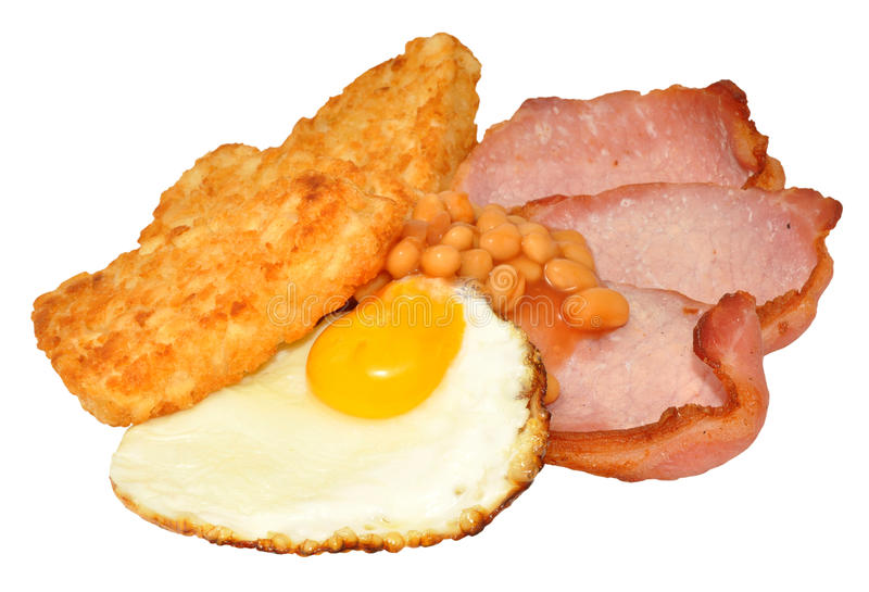 Fried Egg And Bacon Breakfast foto de stock