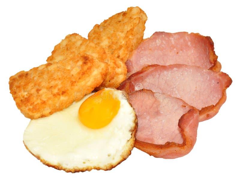 Fried Egg And Bacon Breakfast fotografia de stock royalty free