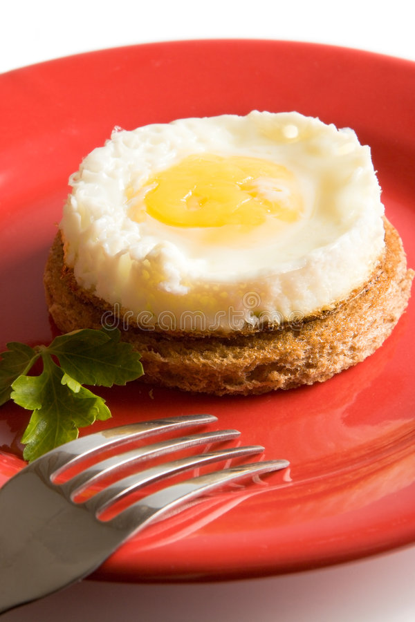 Download Fried Egg On Brown Toast Stock Images - Image: 2320654