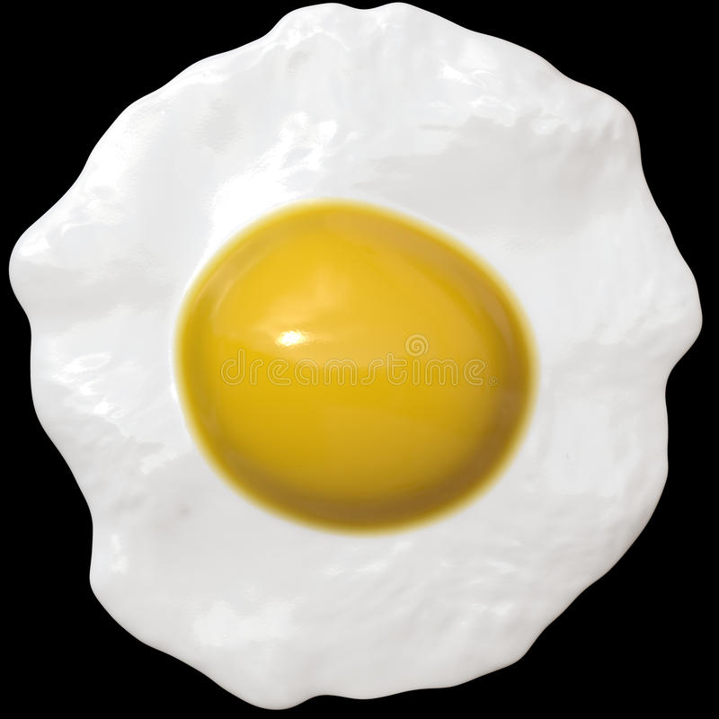 Download Fried Egg stock illustration. Image of clean, hungry - 30934445