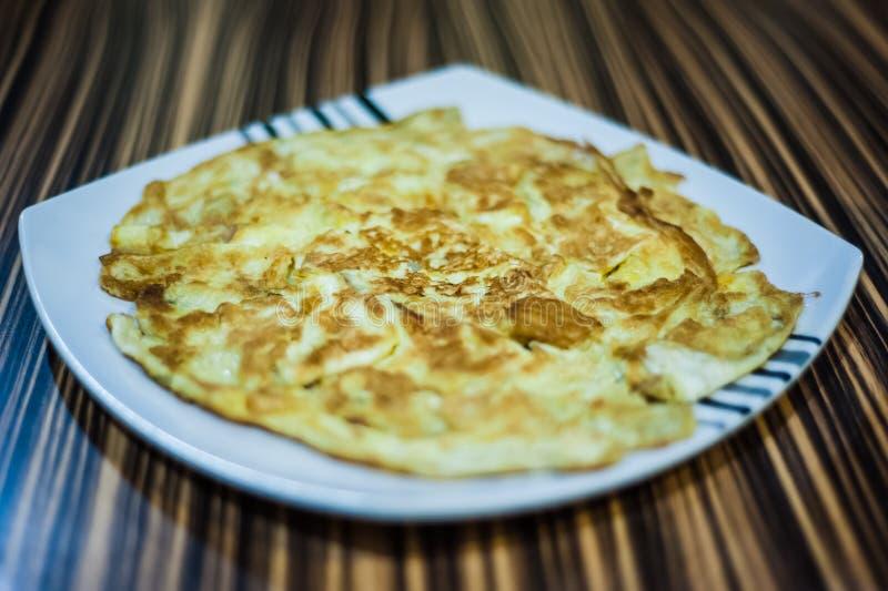 Fried Egg Omelette stock photos