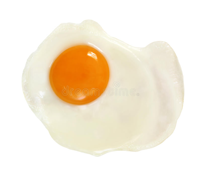 Download Fried Egg (With Path) stock photo. Image of white, nobody - 11379394