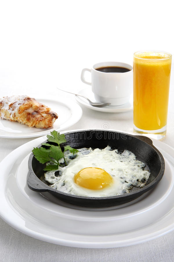 Download Fried eggs stock photo. Image of drink, coffee, glass - 13394484
