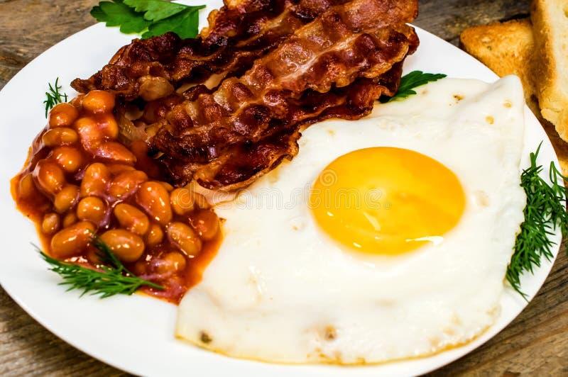 Fried Eggs immagine stock libera da diritti