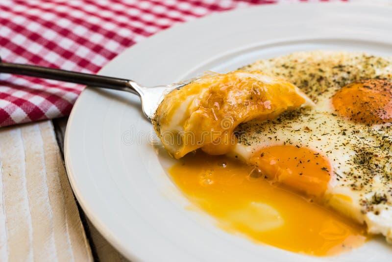 Fried Eggs royalty-vrije stock foto