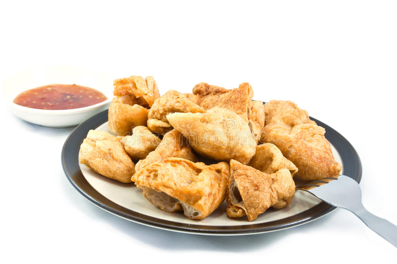 Download Fried fish balls stock image. Image of nuggets, skewered - 39509977