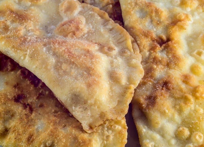 Fried food close up. Unhealthy food stock photos