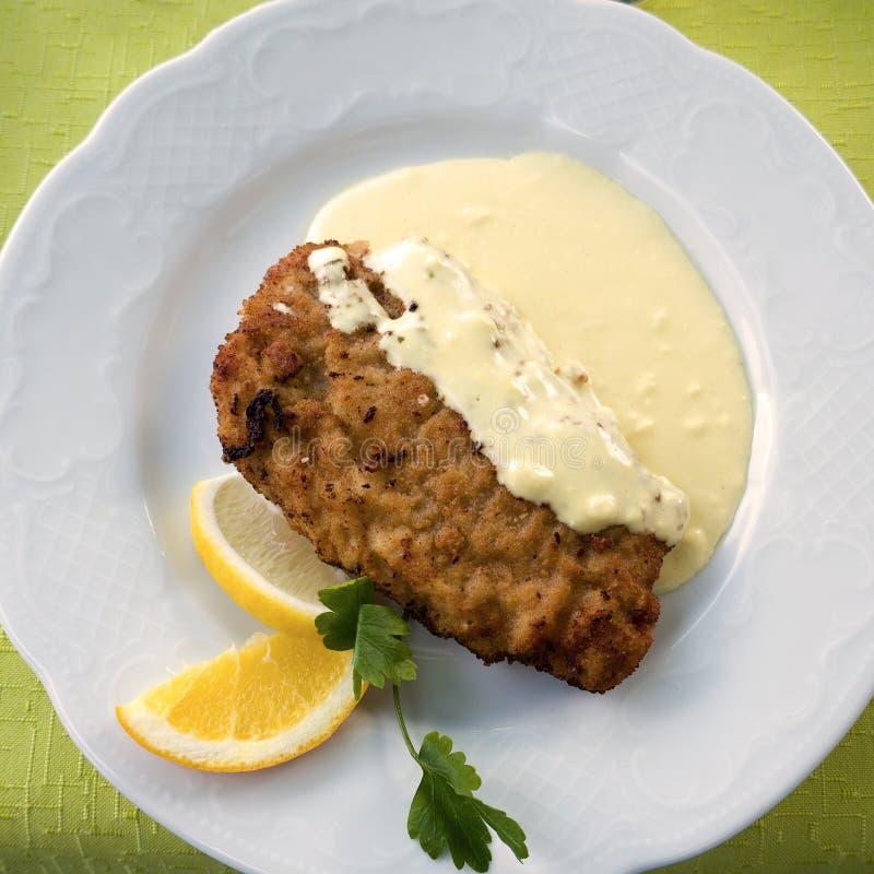 Fried Food, Dish, Food, Crab Cake stock photo