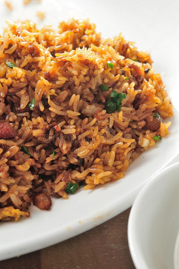 Fried Glutinous Rice fotografie stock