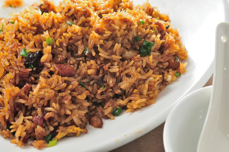 Fried Glutinous Rice. Chinese cuisine Fried Glutinous Rice stock photography