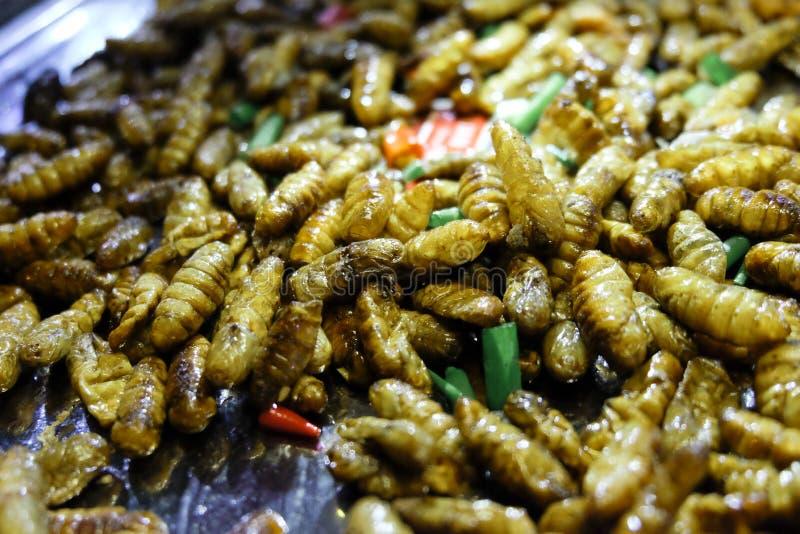 Fried Maggots images libres de droits