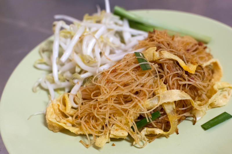 Fried Mee stock photography