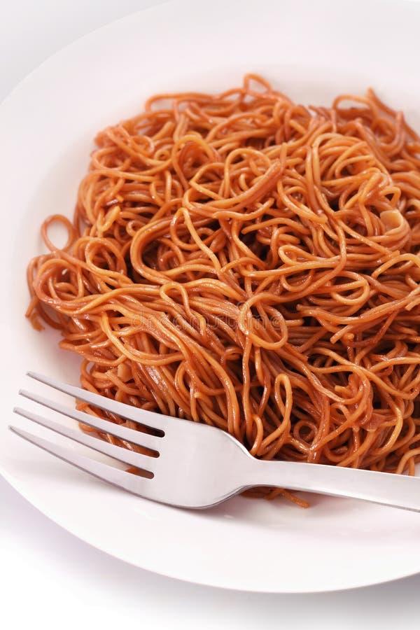 Fried Noodle imagen de archivo