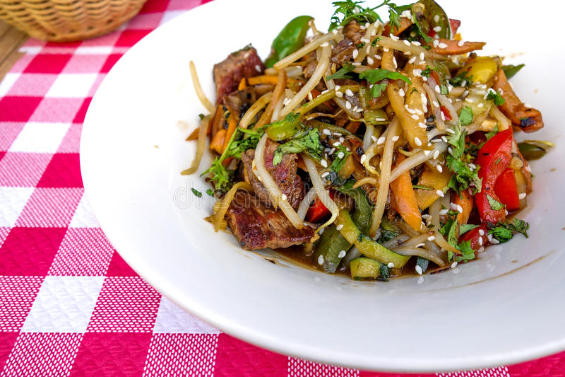 Download Fried noodle asian food stock image. Image of noodle - 34962503