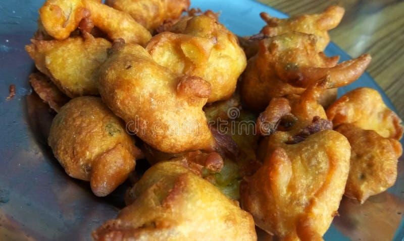 Fried Pakora royalty free stock photography