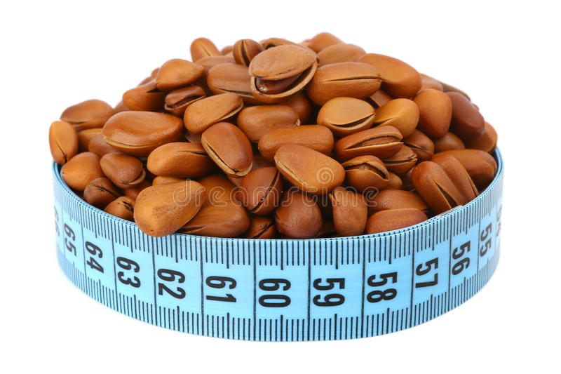Download Fried Pine Nut And Meter Royalty Free Stock Images - Image: 29838689