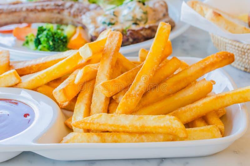 Fried Potato stockfotos