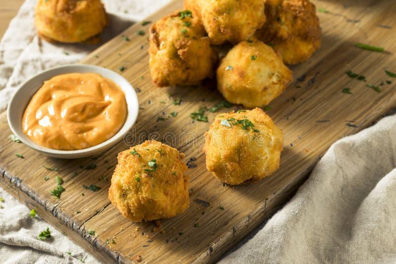 Fried Potato Croquettes profond fait maison images libres de droits