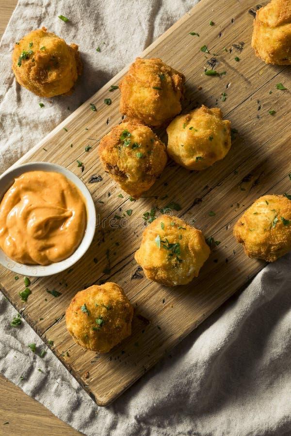 Fried Potato Croquettes profond fait maison photo libre de droits