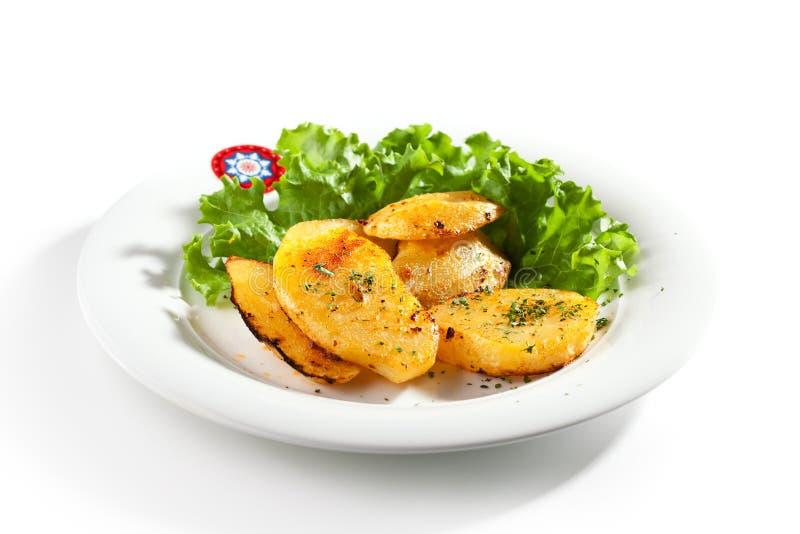 Fried Potato Slice photos libres de droits