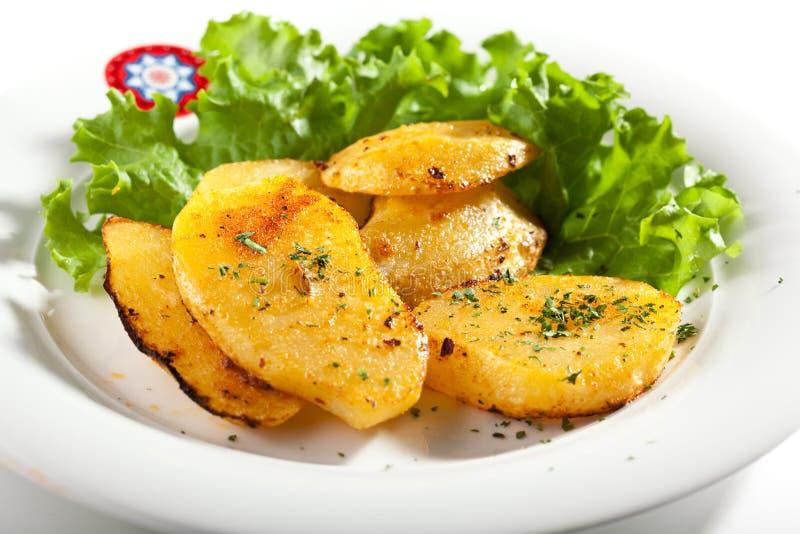 Fried Potato Slice photographie stock libre de droits
