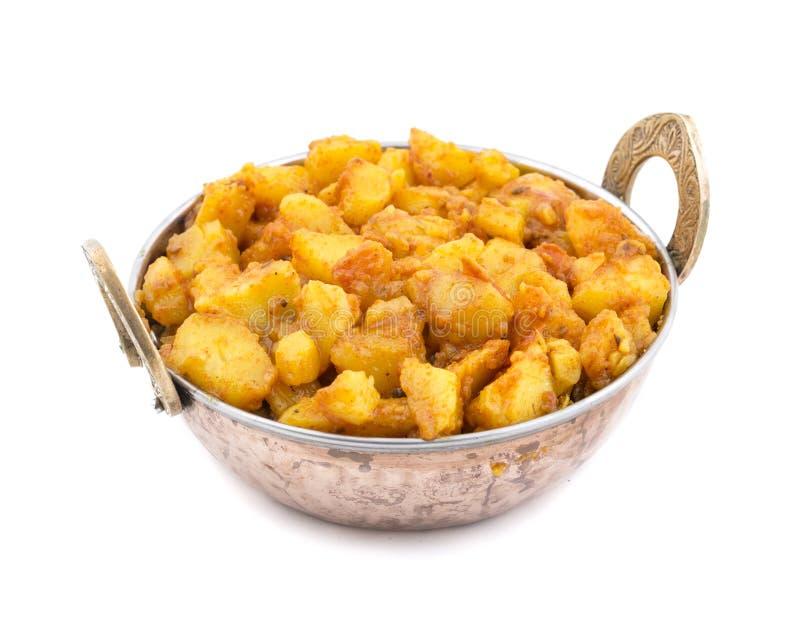 Fried Potato Vegetable images libres de droits