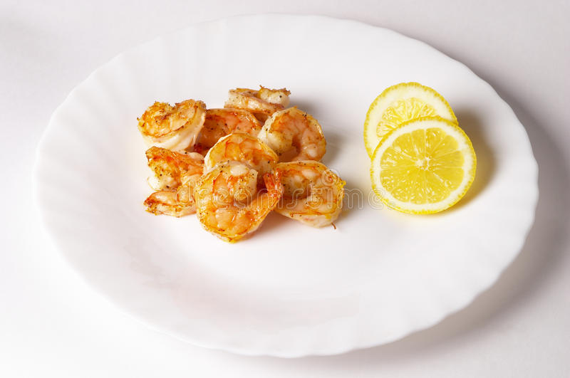 Download Fried prawns stock photo. Image of some, nutrition, gourmet - 13379724
