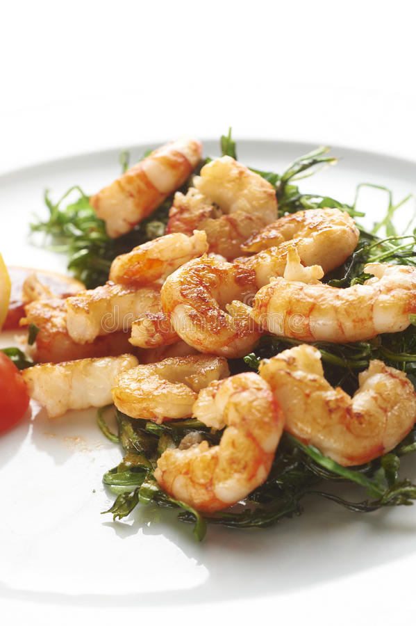 Download Fried prawns stock image. Image of food, meal, prepared - 26833051