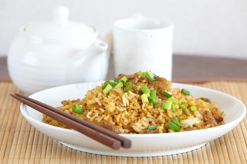 Download Fried rice stock image. Image of chicken, cooking, closeup - 39511791